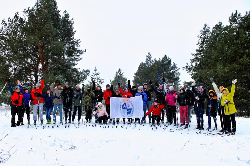 Лыжное спортивное путешествие в национальном парке