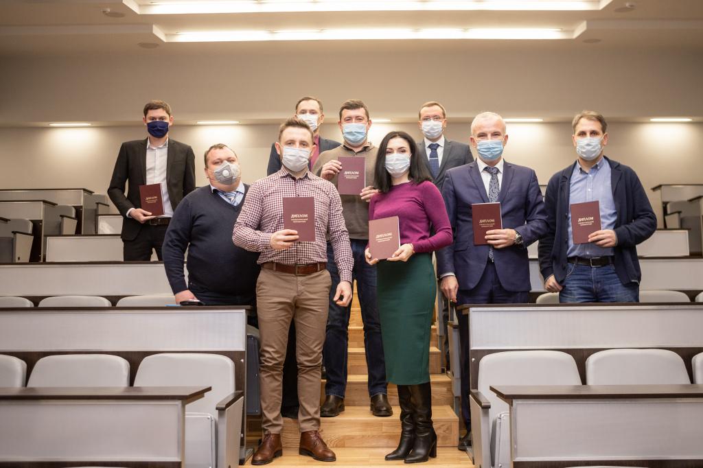 В ВолГУ вручили дипломы участникам президентской программы переподготовки управленческих кадров