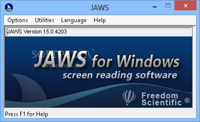 программа Jaws for Windows
